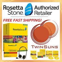Rosetta Stone® Arabic Level 1 Homeschool Software +audio Companion +headset