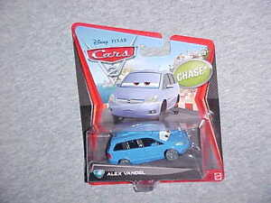 MATTEL-HW-DISNEY-PIXAR-CARS-CHASE-CAR-034-ALEX-VANDEL-034-VHTF-NEW