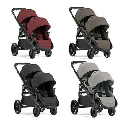 Baby Jogger City Select Lux Double Stroller Pram 2017