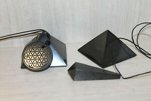 shungite-pyramid-50mm-2-PCs-flower-life-pendants-circle-pendulum-pendant-set