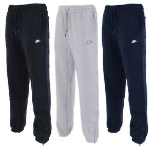 New-Men-039-s-Nike-Logo-Fleece-Joggers-Tracksuit-Bottoms-Track-Sweat-Jogging-Pants