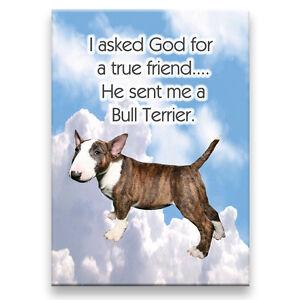 BULL-TERRIER-True-Friend-From-God-FRIDGE-MAGNET-No-2