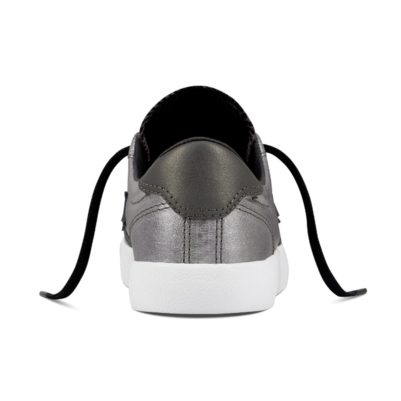 Converse Femme Breakpoint Ox Noir Pearl Blanc Blanc Sneaker