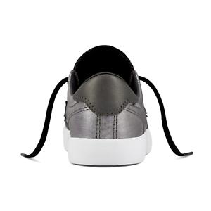 Converse Women/'s Breakpoint Ox Black Pearl White White Sneaker