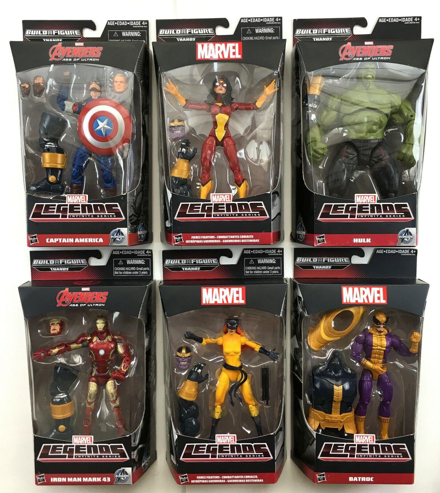 Marvel Legends Series THANOS BAF completare