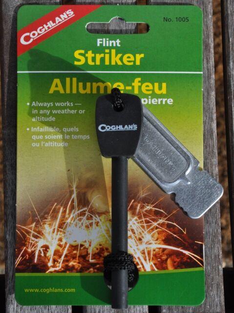 Coghlans Feuerstarter Flint Striker Survival Feuerzeug Outdoor Tool Neu