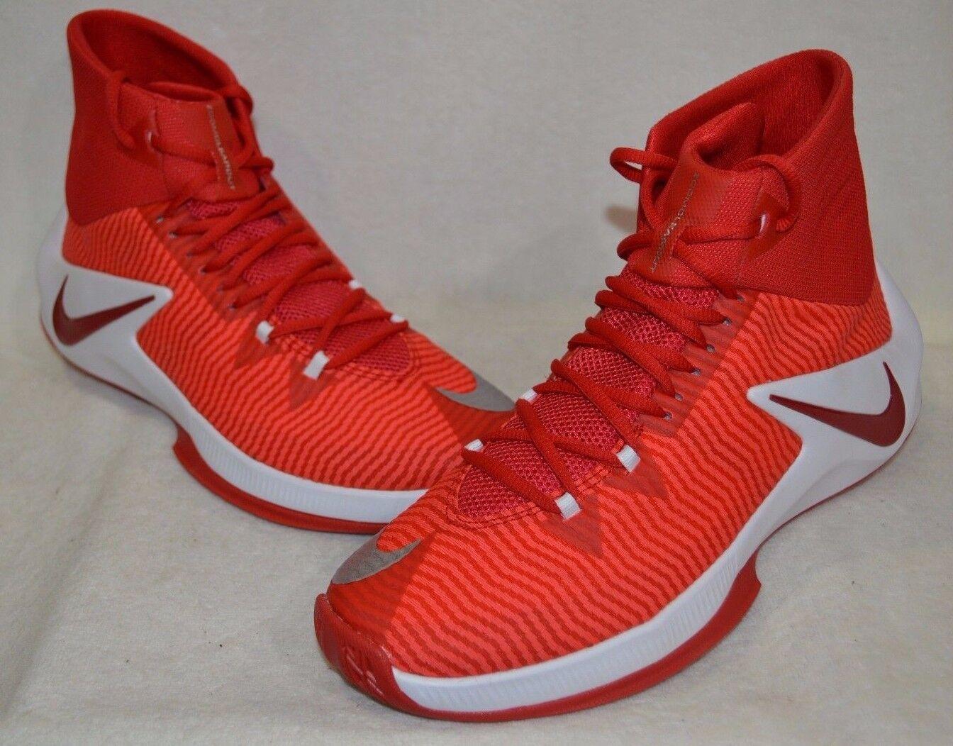 newest collection d91c6 df3c4 Nike Zoom quitar TB Rojo Blanco De De De Hombre Zapatos De  Baloncesto-tamaños