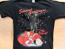 Vintage TED NUGENT1988 Concert Shirt Size Md Original Whiplash Bash Cobo Arena