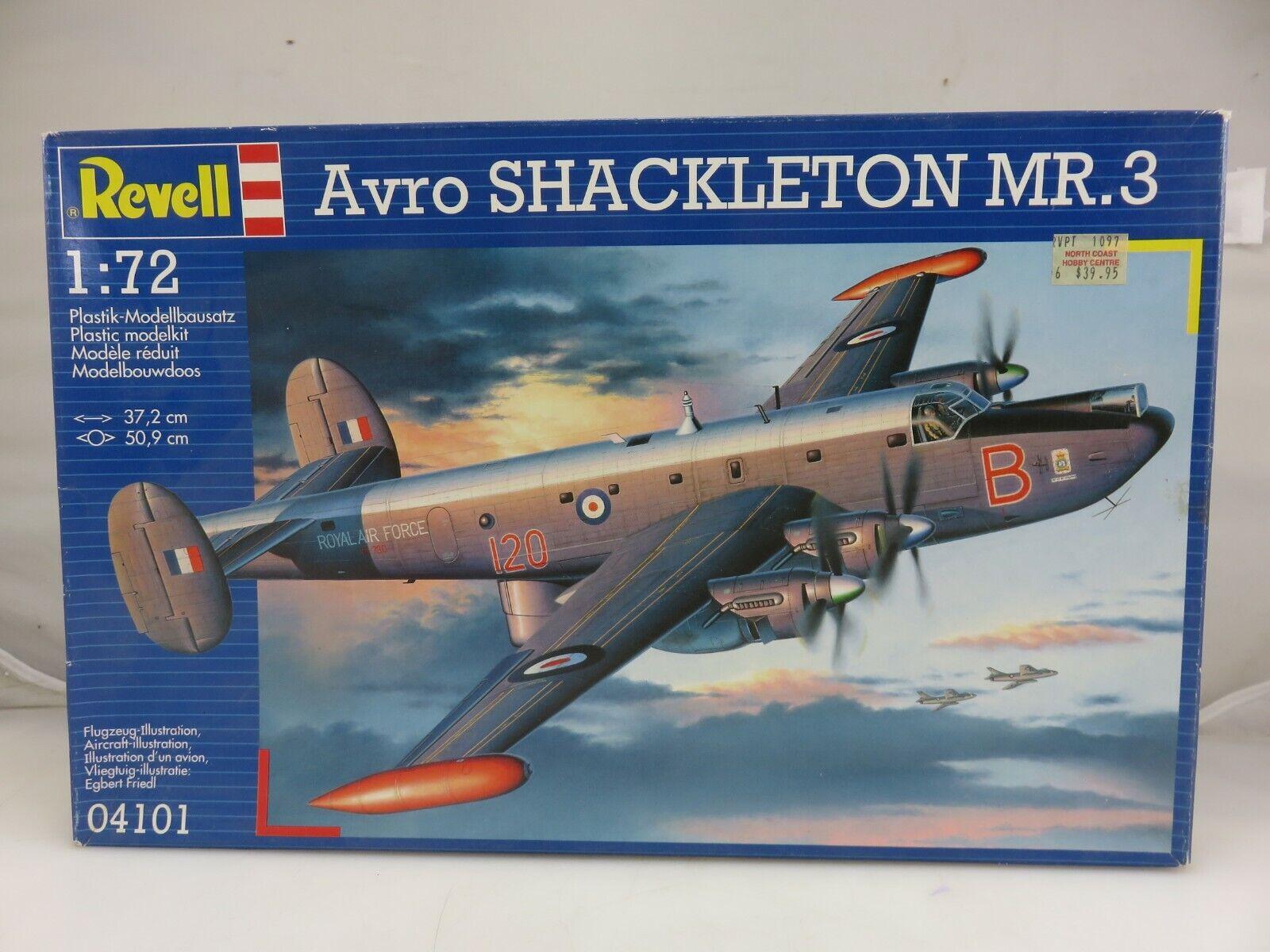 Revell 03873 Avro Shackleton MR.3 RAF Level 5 1:72 NEU//OVP