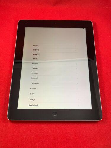 New Apple iPad 4th Gen 64GB Wifi Cellular Unlocked 9.7in Black A1460 Retina 4