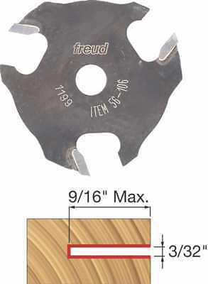 """Freud 56-106  3//32/"""" 3-Wing Slot Cutter For 5//16 Router"""