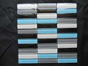 Crystal-Glass-Mosaic-Tiles-Kitchen-Splash-Back-Feature-Wall-4-color-blended