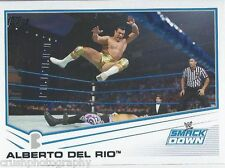 Alberto Del Rio 2013 WWE Topps Triple Threat Trading Card #45 Smackdown