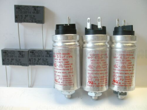 Studer REVOX A77 MKII original Satz Motorkontensatoren