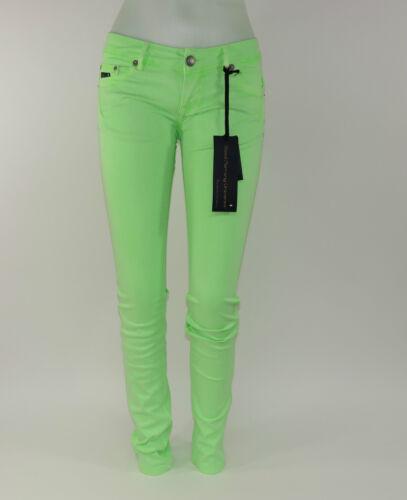 viele Größen Good Morning Universe Jeans Hosen Woman G1332-675 Grün Sun Neu
