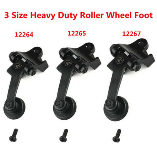 Sewing Machine Roller Wheel Foot Set of 3 Sizes 12264+12265+12267 Parts Tool