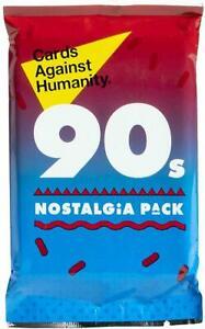 Tarjetas-nuevas-contra-la-humanidad-anos-90-nostalgia-Pack-30-tarjetas-de-expansion
