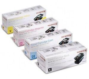 SET-Genuine-Xerox-CT201591-CT201592-CT201593-CT201594-Toners-Docuprint-CP105b