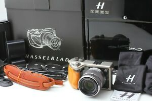 Complete-ALMOST-UNUSED-in-BOX-Hasselblad-Lunar-Olive-Wood-18-55mm-Lens-JAPAN