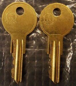 2 Eberhard//Better-Built Tool Box Keys Pre-Cut To Your Key Code Codes EC801-EC820