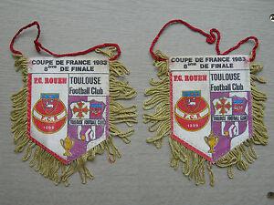 fanion-coupe-de-France-1983-8eme-de-finale