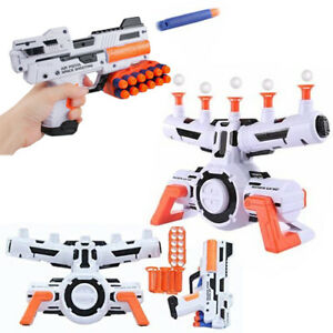 space wars shooting hover floating target game nerf gun aim gift toy
