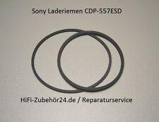 Sony cdp-557 ESD Cinghia di carico Rubber belt