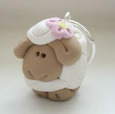 Lot handmade SHEEP stitch marker set- knitting crochet designer gift custom made