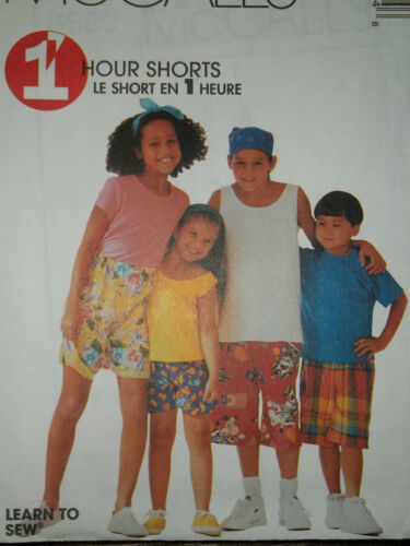 PULL ON SHORTS PATTERN  2-14 FF 1 HOUR CHILDS UNCIRCULATED McCALL/'S #8589