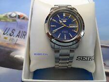 SEIKO  5  Stainless Steel Blue/Multicolored  Dial SEIKO Automatic  SNKK27-NEW