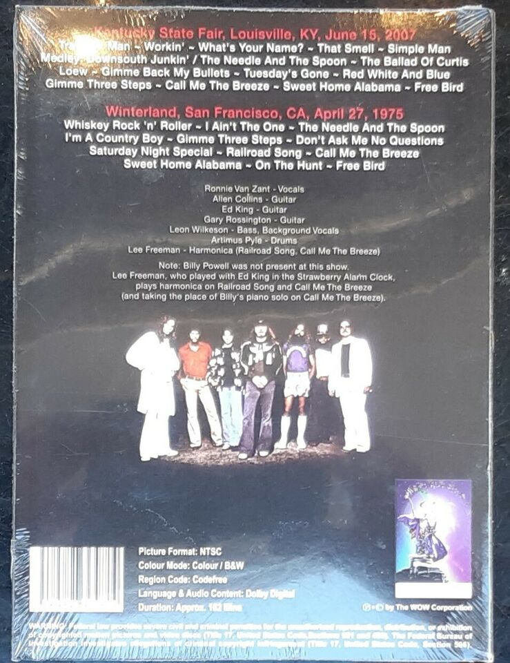 Lynyrd Skynyrd - on tour, instruktør Lynyrd Skynyrd - on