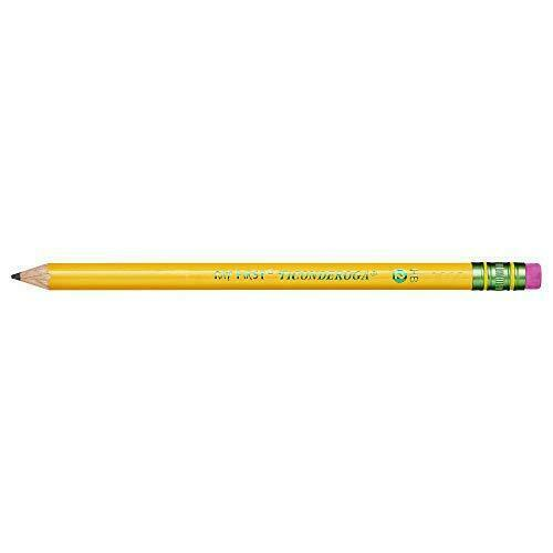 Pre-Sharpened with Eraser, TICONDEROGA My First Pencils Wood-Cased #2 HB Soft