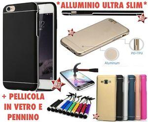 custodia alluminio samsung j3 2016