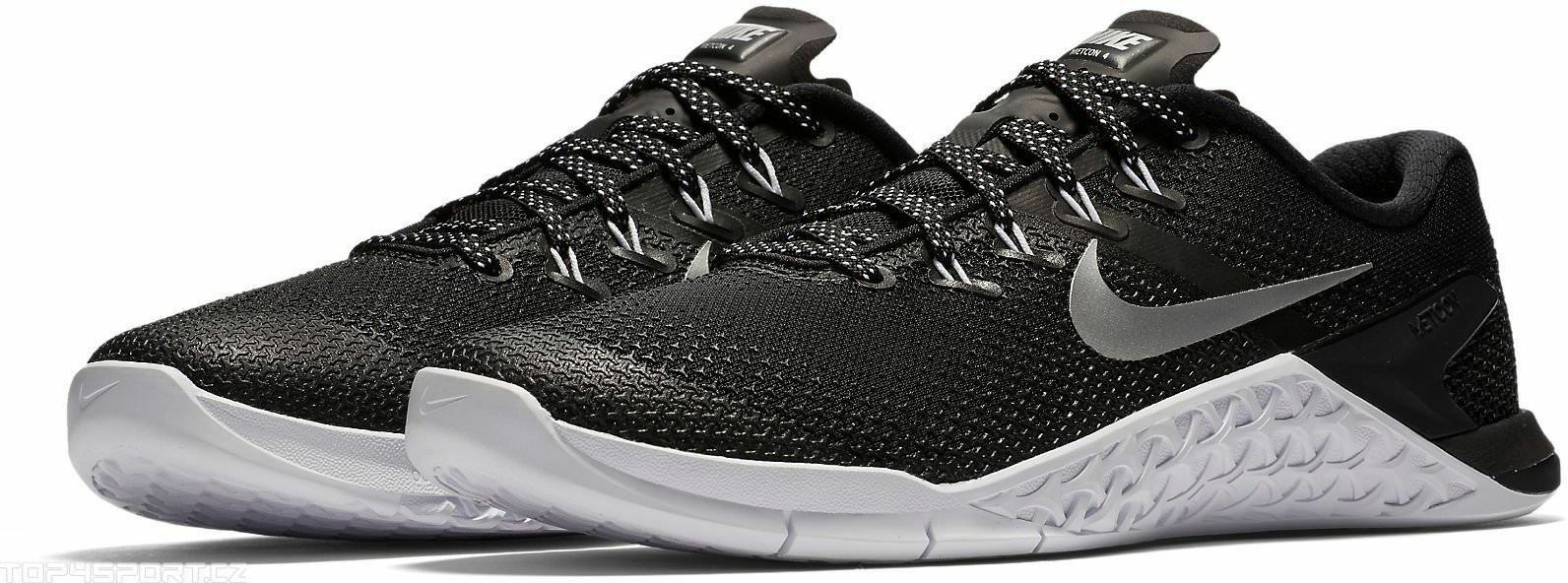 Nike Metcon 4 Black Metallic Silver White 924593 001 Women's Sz. 5.5 New shoes for men and women, limited time discount