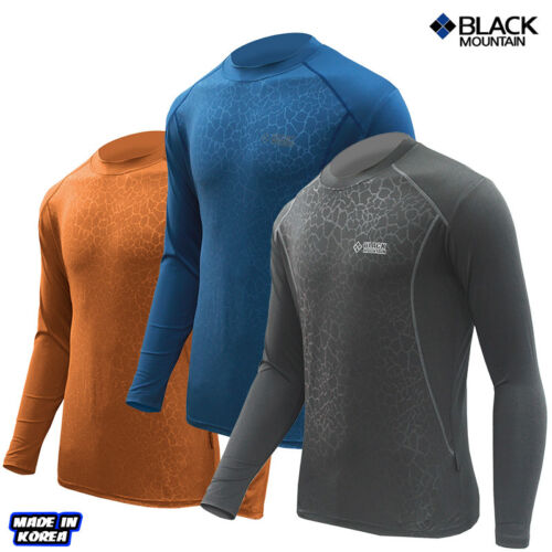 Black Mountain Spring /& Summer leopard round functional T-shirt