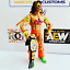 WWE-WWF-Cuero-Real-titulo-Intercontinental-por-Hasbro-Mattel-Jakks-figuras miniatura 3
