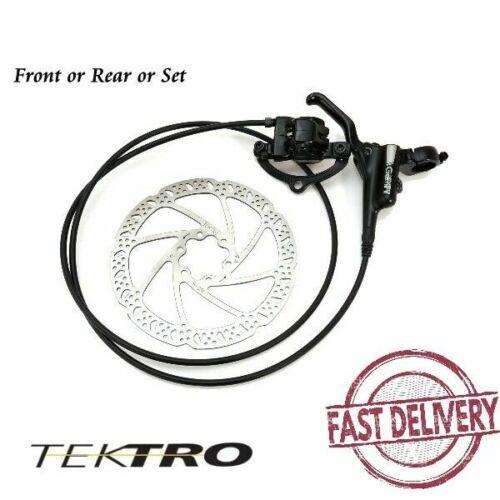 Rear Tektro HD-M500 Gemini Bike Hydraulic Disc Brake with Rotor Front Set