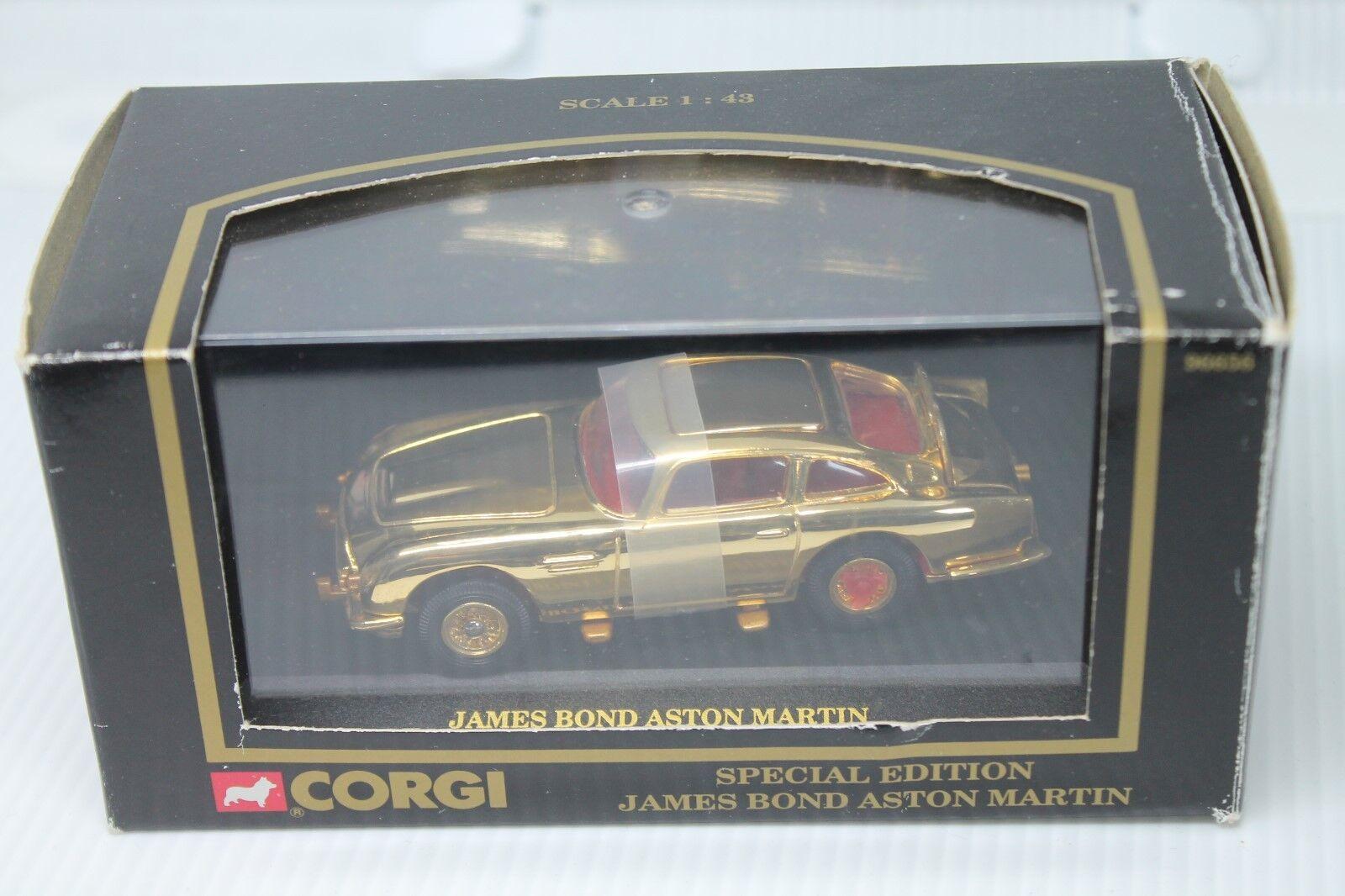 CORGI TOYS  Aston Martin db5  JAMES BOND BOND BOND  Goldfinger  reifenschlitzer | En Ligne  8a2542