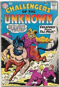Challengers of the Unknown #13, DC Comics 1960, Bob Brown art VG