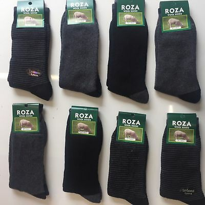 3 Pairs Men/'s Thick Chunky Wool Work Hiking Boot Socks Size UK 6-11 MBSKTS
