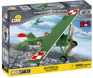 Cobi 2976 - Small Army - WWI Fokker E.V. (D.VIII) - Neu