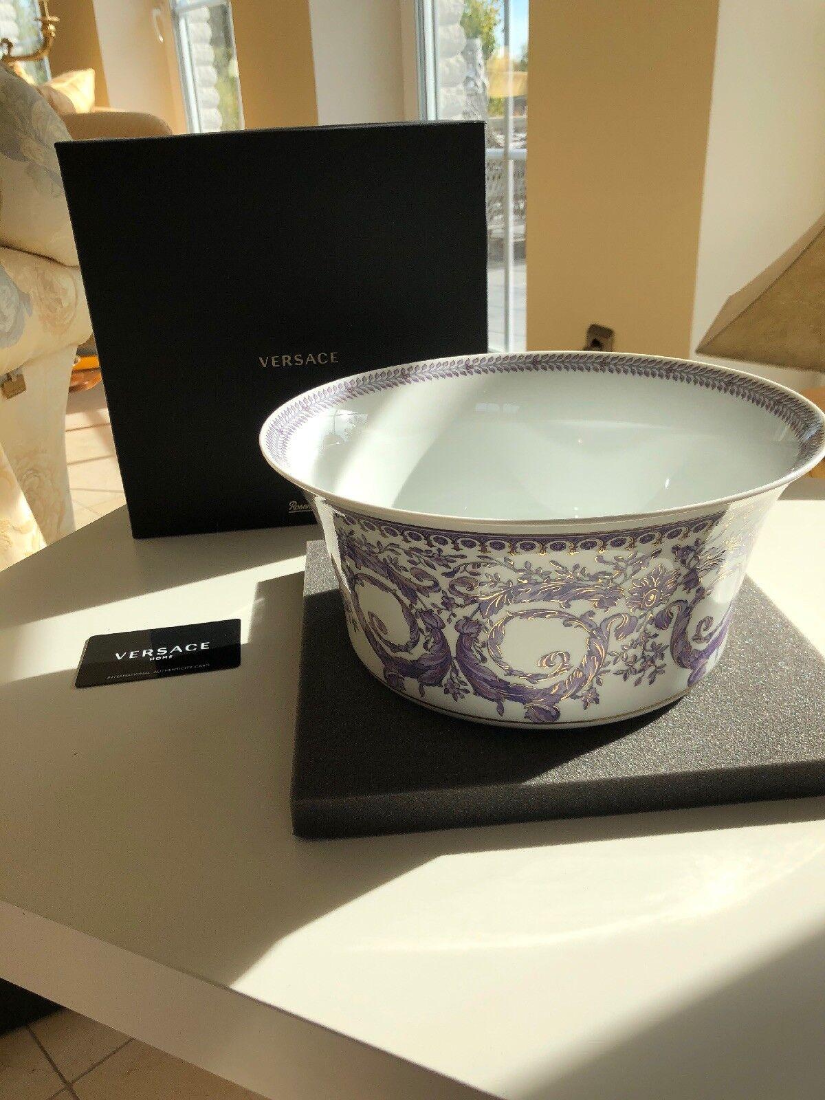 Rosanthal Versace Le Grand DiGrünissement große Schüssel 25cm Neu OVP | Online Outlet Shop