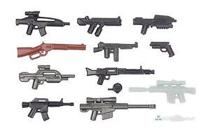 BrickArms Value #7 Militär Waffen Set, Custom Waffen für LEGO® Figuren