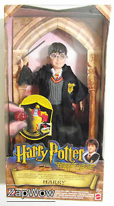 HARRY-POTTER-2001-Action-Figure-8-034-Philosophers-Stone-Hogwarts-Heroes-Mattel-Toy