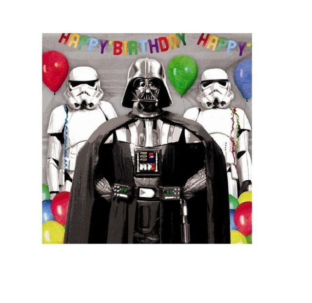Official Star Wars Birthday Cards Age 6 7 8 9 10 General Nephew
