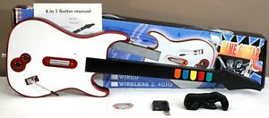 NEW-Wireless-Guitar-Hero-Rock-Band-3-2-1-Game-Controller-PS3-PS2-Wii-PC-Beatles