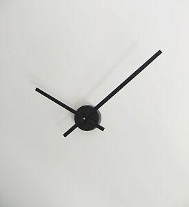 horloge pendule minimaliste diam 60cm min grandes aiguilles style géantes DIY