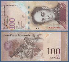 Venezuela 100 Bolivares 2013 UNC P. 93 G