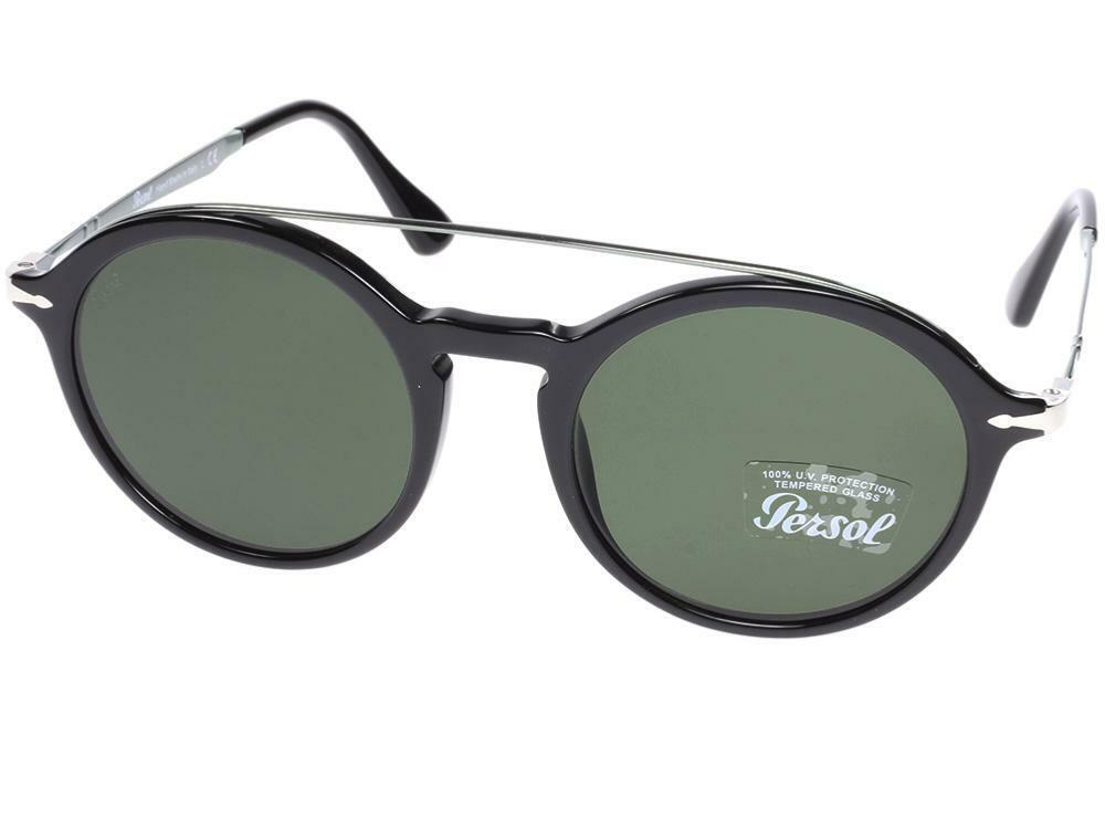 78c735575b2b Persol Sunglasses Calligrapher Po3172s 95/31 51 Black Green Authentic for  sale online | eBay
