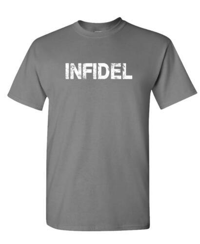Grunge infidèle-Unisexe T-shirt en coton
